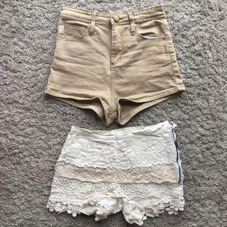 Bundle: Nude Shorts