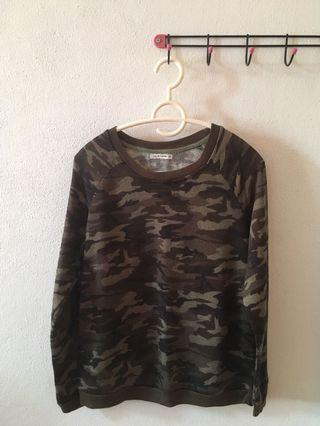 BRANS OUTLET ARMY GREEN SWEATER #JUNEPAYDAY60