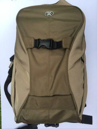 CRUMPLER The Keystone dslr backpack (olive/brown)