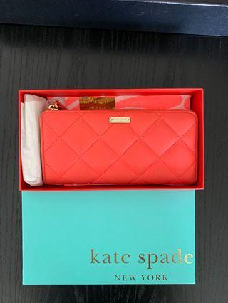 Kate spade long wallet authentic