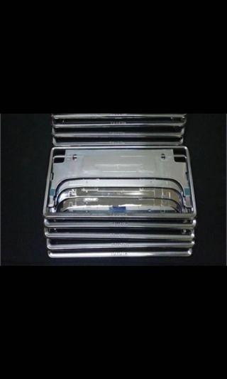 Toyota Silver Plate Frame
