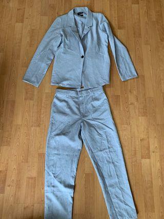 Periwinkle Suit Set