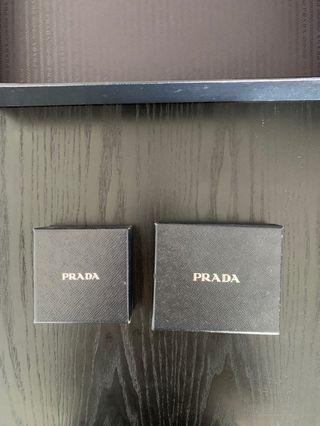 Prada empty boxes