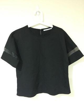 👚[全新]Queenshop 黑色上衣