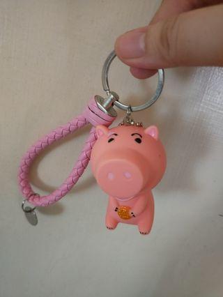 玩具總動員火腿豬鑰匙圈