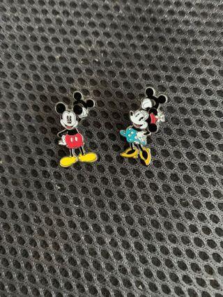日本購 Mickey Minnie earring 米奇耳環
