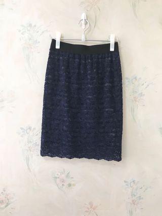 日本 雙面 半腰裙