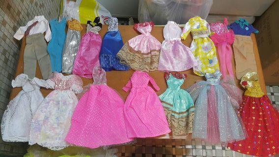 玩具公仔 dress
