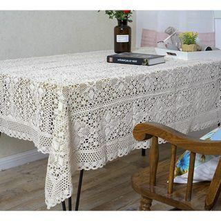 Lace Hollow Table Cloth