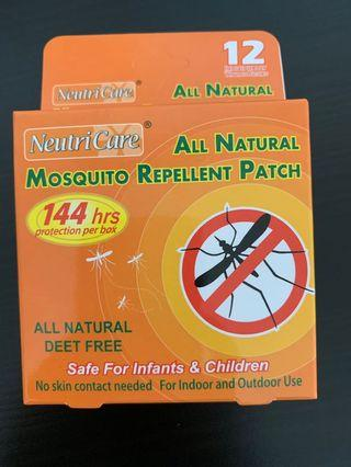 Neutricare All natural mosquito repellent patch