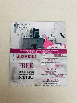 Pearl dental care voucher