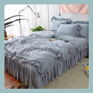 #簡約純棉床品套裝      Simplicity Style Bedding Set
