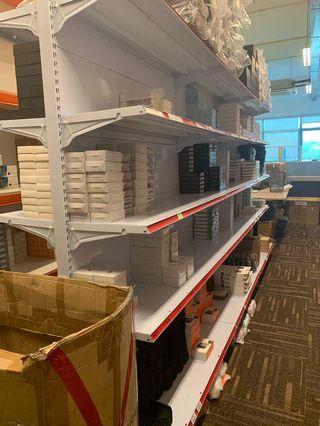 Gondola shelves retail racks storage supermarket