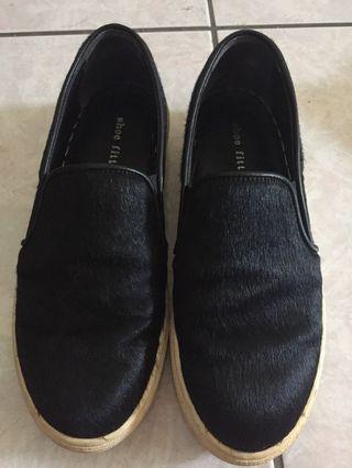 馬毛樂福鞋 36碼