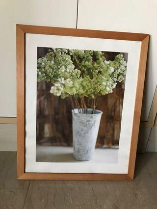 Ikea picture with frame