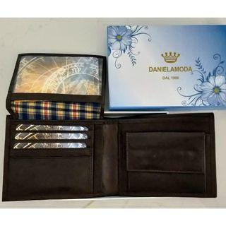 [Brand New] Daniela Moda Leather Wallet