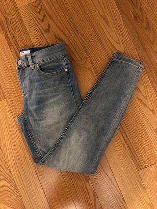 Dynamite Mid-Rise Kate Jeans (Size 26)