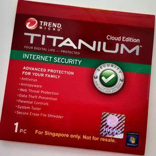 [Brand New] Trend Micro Titanium Internet Security