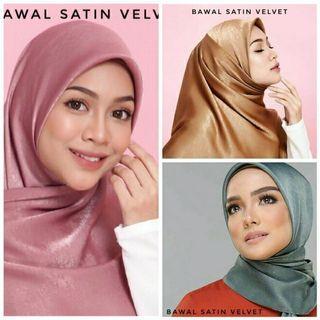 Bawal Satin Velvet