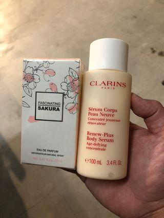 Body Lotion + Sakura Perfume
