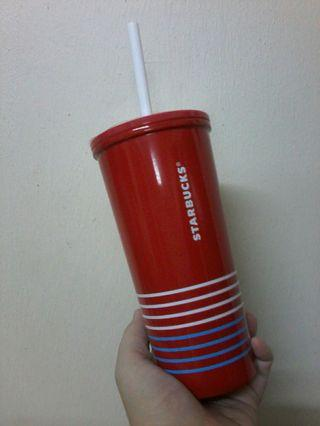 Starbucks summer series stainless steel cool cup 355ml
