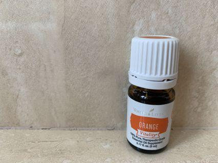 Young Living Orange Vitality Essential Oil 5 ml Brand New BN