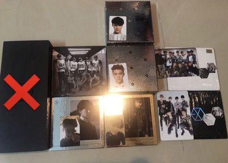 EXO Albums (good conditions)