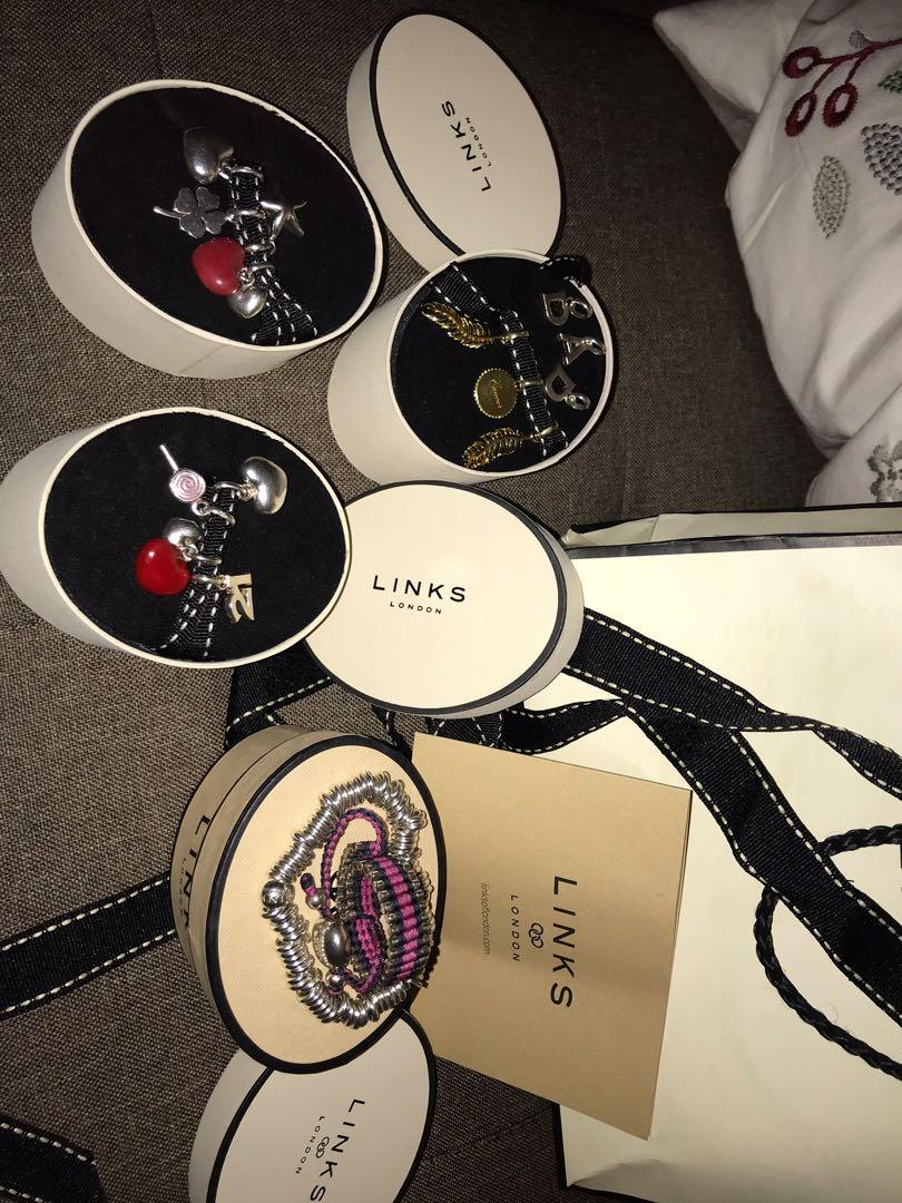 Trade or Sell - 14 charms 2 bracelets Links of London