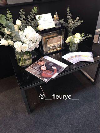 Event floral arrangement