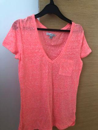 🚚 American eagle/Pink Top