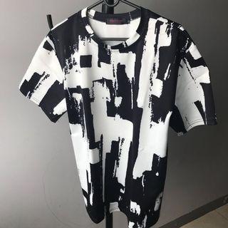 Satin Monochrome Black White