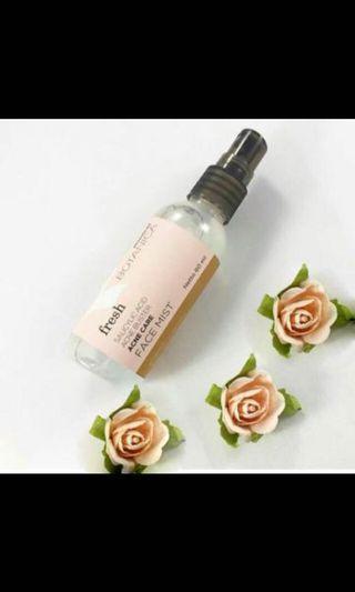 Mineral botanica face mist acne care
