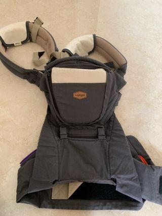 I-angel Rainbow 2 Hipseat Carrier - Charcoal Grey