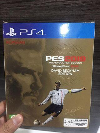 PES 2019 - David Beckham Edition (PS4)