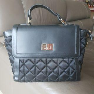 Black & Gold Sling / Handbag