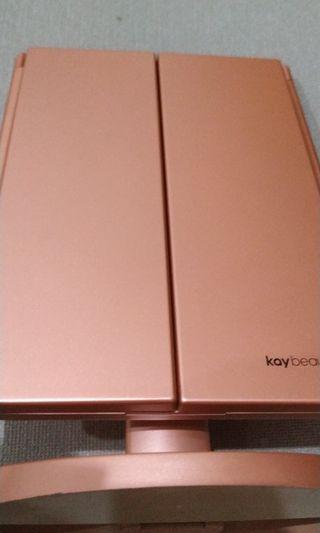 Kay Beauty 24LED 3Way Foldable Standing Mirror