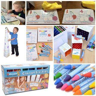 澳洲 MICADOR 兒童填色活動套裝