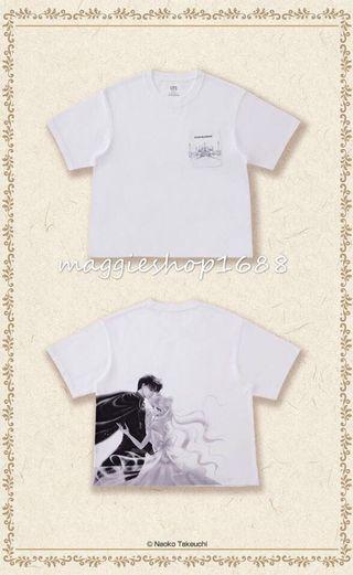 預訂XS-XL*Uniqlo美少女戰士UT x Sailor Moon女裝短袖T恤上衣T-Shirt