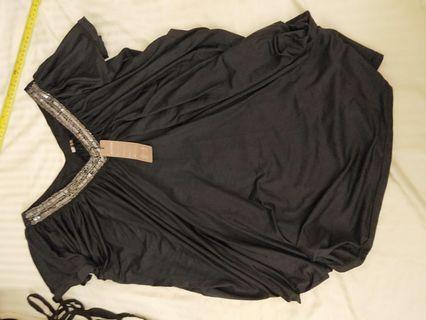 Brand New Black Loose Blouse