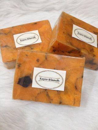 Kojic Bleach Whitening Bar Soap