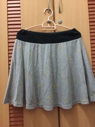 Flare Skirt Grey