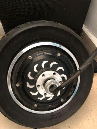 Tyre with 48v motor