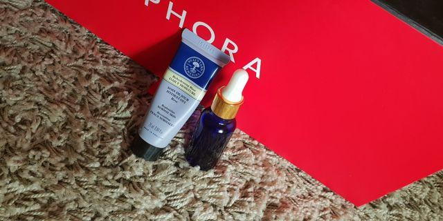 (AUTHENTIC) NEALS YARD REMEDIES Essential Oil and lotion