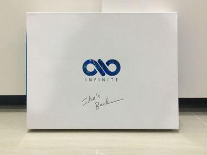 INFINITE SHE'S BACK JAPAN LIMITED EDITION