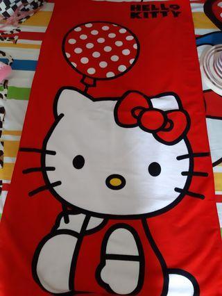 Handuk Hello Kitty Merah