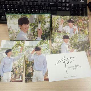Postcard Yook Sung Jae x SOME By Mi