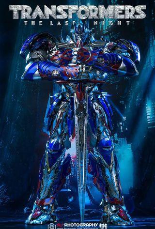 ThreeA Optimus Prime Transformers The Last Knight Collectible Premium Scale (Retail Version)