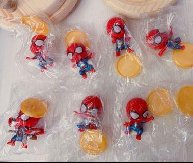 Spiderman figures Q版蜘蛛俠公仔
