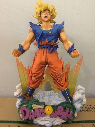 Super Master StarsPiece Diorama Dragon Ball Z-Son Goku (The Brush)