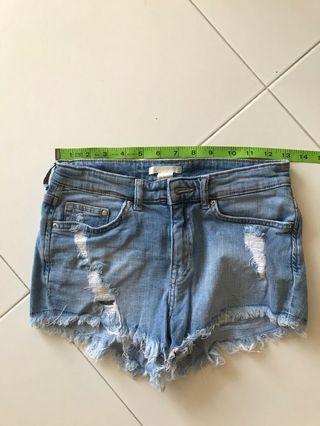 🚚 Denim Shorts (H & M)